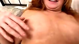 Blonde sexy mom anal banged cruel at home