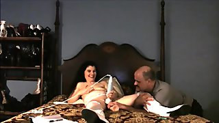 hotwife bets her next fuck date by playing blackjack
