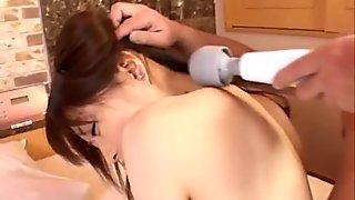 Milf Hosino enjoys cock smacking her cunt