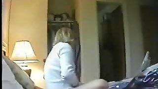 Moms masturbating caught by bad sons. Hidden cam