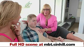 warm hefty bap MILF Gives Sex Lessons To Her Daughter - mbt.sinhill.com