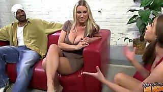 Hot milf fucks hard an huge black cock 19