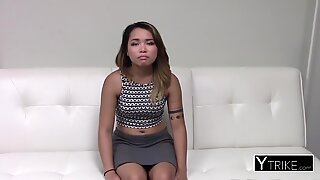 Asian high end escort gets raw meat