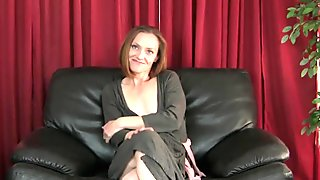 Redheaded MILF Amber is Aunt Judy's Newest Beauty