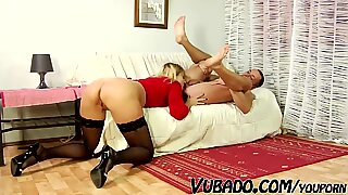 BF FUCKS MILF ON COUCH