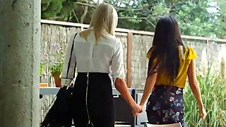 Hot MILFs Alexa Tomas and Lexi Lowe Lesbian Fun
