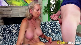 Golden Slut - Older Lady Blowjob Comp 3