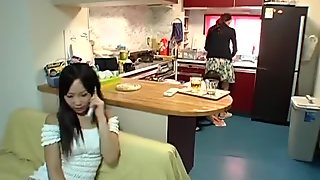 Juvenile wife and youthful mother-in-law scene 5(censored)