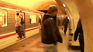 Guy picked up fat mom in the metro